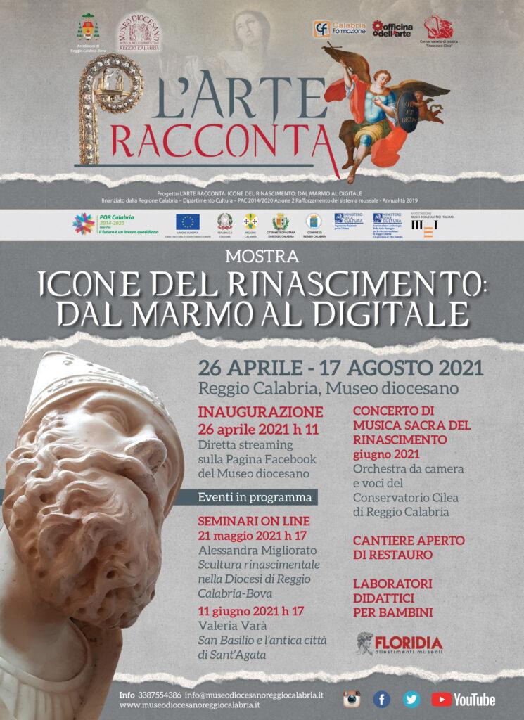 Icone del Rinascimento: dal marmo al digitale (locandina)