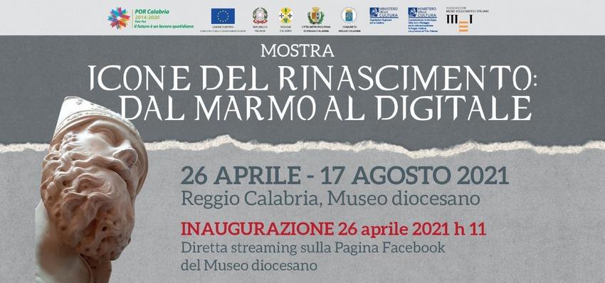 Icone del Rinascimento: dal marmo al digitale (banner)