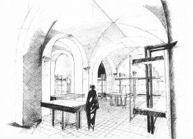 Allestimento (architetti S. Palmeri e A. R. Muscolino)